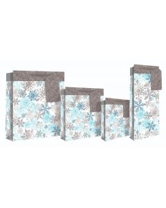EuroWrap Snowflake Large Bag - Charity Christmas Gifts & Decorations