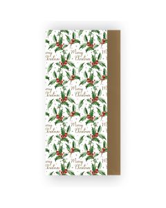 Christmas Holly Tissue Paper - Charity Christmas Gifts & Decorations