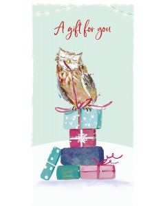 Owl Money Wallet - Cards For Good Causes Charity Christmas Cards