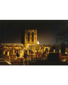 York Minster Rooftops - Charity Christmas Cards