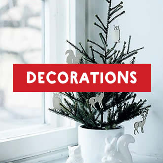 Graphic link to shop decorations